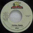 "ALIAS jamaica 45 HOLIDAY REMIX 7"" Reggae MAD-HOUSE"