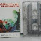 ALANIS MORISSETTE peru cassette JAGGED LITTLE PILL Rock SPANISH PRINT REPRISE ex