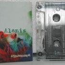 ALANIS MORISSETTE colombia cassette JAGGED LITTLE PILL Rock SPANISH PRINT WARNER