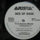 "ACE OF BASE usa 12"" CRUEL SUMMER Dj WHITE JACKET ARISTA"