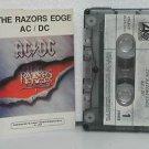 AC/DC peru cassette RAZORS EDGE Rock SPANISH PRINT PERU excellent