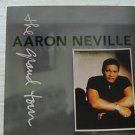 """AARON NEVILLE usa display THE GRAND TOUR Pop 12"""" X 12"""" DOUBLE-SIDED POSTER. THIS"""