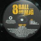 "8 BALL & MJG & LUDACRIS usa 12"" SHOT OFF Dj WHITE JACKET BADBOY"