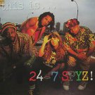 """24-7 SPYZ usa display THIS IS 12"""" X 12"""" DOUBLE-SIDED POSTER. THIS IS NOT AN LP O"""