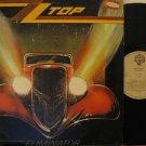 ZZ TOP peru LP ELIMINATOR Rock LABEL IN SPANISH TOO WB 0123774.1