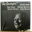 ZOOT SIMS usa LP THE SWINGER Jazz PABLO
