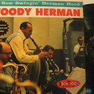 WOODY HERMAN usa LP THE NEW SWINGIN' HERMAN HERD Jazz BUBBLY SURFACE CROWN
