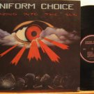UNIFORM CHOICE usa LP STARING INTO THE SUN Rock FOLDOUT GIANT excellent