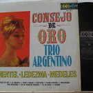 TRIO ARGENTINO latin america LP CONSEJO DE ORO Tango ECO