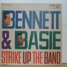TONNY BENNET & COUNT BASIE usa LP STRIKE UP THE BAND Jazz ROULETTE