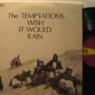 TEMPTATIONS usa LP WISH IT WOULD RAIN Soul WITH ORIGINAL INNER SLEEVE/WRITING ON