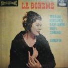 TEBALDI BERGONZI usa LP PUCCINI LA BOHEME Classical BOX SET LONDON-STEREO excell