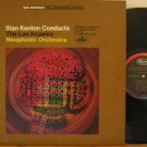 STAN KENTON usa LP CONDUCTS THE LOS ANGELES NEOPHONIC Classical FOLDOUT CAPITOL