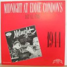 SAMPLER usa LP MIDNIGHT AT EDDIE CONDON'S Jazz PRIVATE