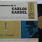 SAMPLER latin america LP HOMENAJE A CARLOS GARDEL V.II Tango ARIEL