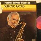 RONNIE SCOTT u.k. LP SERIOUS GOLD Jazz PYE