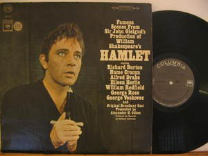 RICHARD BURTON usa LP HAMLET OST PROMO CBS