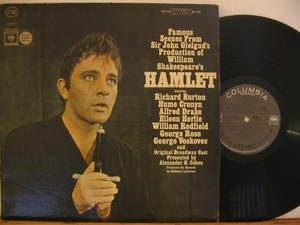 RICHARD BURTON usa LP HAMLET OST PROMO CBS