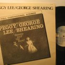 PEGGY LEE & GEORGE SHEARING usa LP THE BEAUTY AND THE BEAT Jazz PAUSA excellent