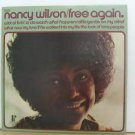 NANCY WILSON usa LP FREE AGAIN Jazz PI