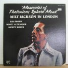 MILT JACKSON usa LP MEMORIES OF THELONIOUS SPHERE MONK Jazz CUT CORNER PABLO