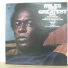 MILES DAVIS usa LP GREATEST HITS Jazz COLUMBIA