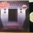 METAL CHURCH usa LP THE DARK Rock PROMO/SAW CUT ELEKTRA