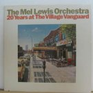 MEL LEWIS usa LP 20 YRS AT THE VILLAGE VANGUARD Jazz PRIVATE