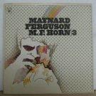 MAYNARD FERGUSON usa LP M.F. HORN 3 Jazz COLUMBIA