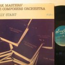MARK MASTERS usa LP EARLY START Jazz SEA BREEZE excellent