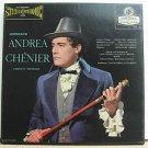 MARIO DEL MONACO usa LP GIORDIANO ANDREA CHENIER Classical BOX SET LONDON excell