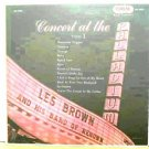 LES BROWN usa LP CONCERT AT THE PALLADIUM Jazz CORAL