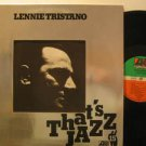 LENNIE TRISTANO usa LP THAT'S JAZZ ATLANTIC excellent