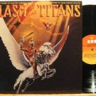LAURENCE ROSENTHAL usa LP CLASH OF THE TITANS OST CBS excellent