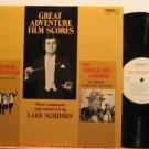 LALO SCHIFRIN usa LP GREAT ADVENTURE FILM SCORES OST ENTRACTE excellent