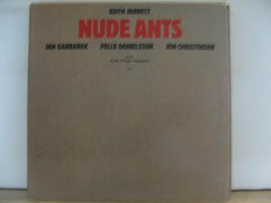 KEITH JARRETT usa LP NUDE ANTS Jazz ECM