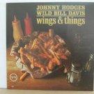 JOHNNY HODGES WILD BILL DAVIES usa LP WINGS & THINGS Jazz VERVE