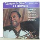 J. J. JOHNSON usa LP CONCEPTS IN BLUE Jazz PABLO