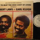 HUBERT LAWS/EARL KLUGH usa LP HOW TO BEAT THE HIGHT COST OF LIVING Jazz PROMO/WH