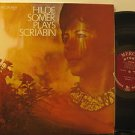 HILDE SOMER usa LP PLAYS SCRIABIN Classical PUNCHED HOLE MERCURY excellent