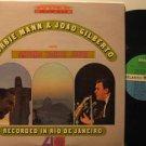 HERBIE MANN & JOAO GILBERTO usa LP RECORDED IN RIO DE JANEIRO Jazz WITH ORIGINAL