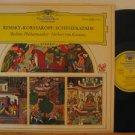 HERBERT VON KARAJAN germany LP SCHEREZADE Classical DEUSTCHE GRAMMOPHON excellen