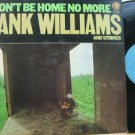 HANK WILLIAMS usa LP I WON'T BE HOME NO MORE Country WITH ORIGINAL INNER SLEEVE