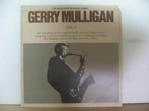 GERRY MULLIGAN usa LP VOL.1 Jazz BLUE-NOTE