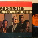 GEORGE SHEARING & MONTGOMERY BROTHERS usa LP S/T SELF SAME UNTITLED Jazz SMALL W