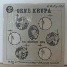 GENE KRUPA usa LP ACE DRUMMER MAN Jazz PRIVATE