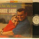 FRANKIE LAINE usa LP YOU ARE MY LOVE Vocal PROMO/SMALL WRITING ON BACK COLUMBIA