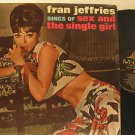 FRAN JEFFRIES usa LP SEX AND THE SINGLE GIRL Vocal MGM