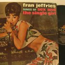 FRAN JEFFRIES usa LP SEX AND THE SINGLE GIRL MGM excellent