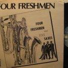 FOUR FRESHMEN usa LP AND FIVE SAXES Jazz PAUSA excellent